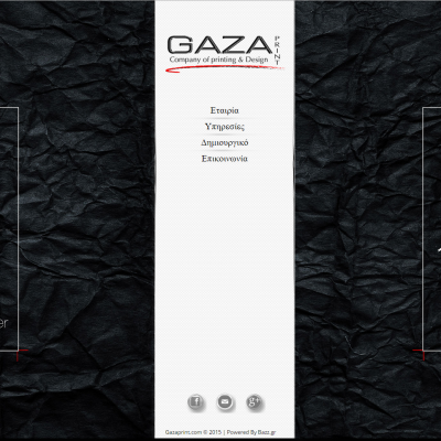 GAZAprint   Cοmpany Of Printing & Design